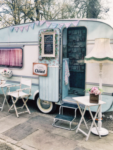 Mildred The Vintage Caravan Booth